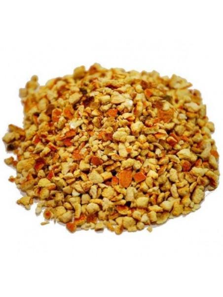 Écorces d'orange séchées