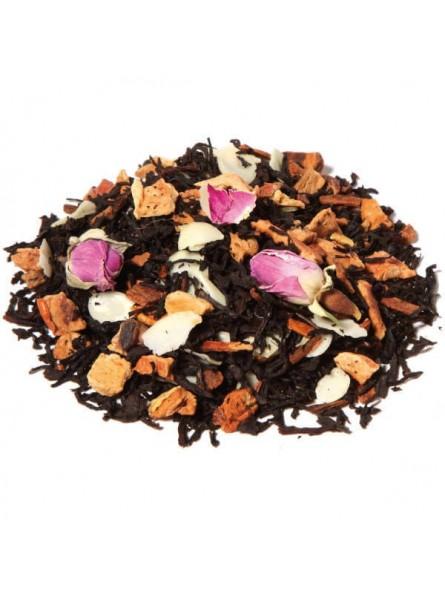 Thé noir oriental à la rose