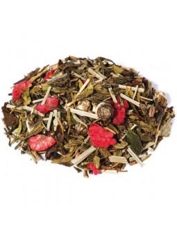 thé a la violette et framboise