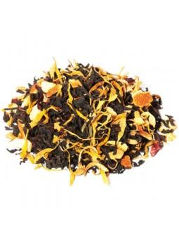 Thé noir orange sanguine fleurs d'oranger