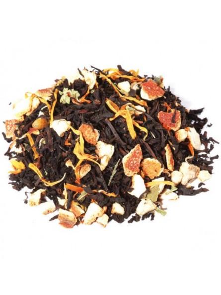 thé noir mandarine pamplemousse kiwi cosa rica