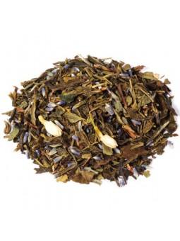 thé aromatisé au guarana et aux fleurs