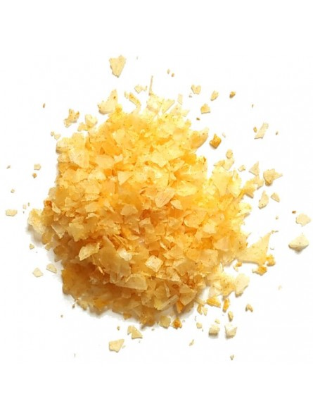 Flocons de sel pyramidal de chypre au safran