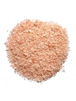 Flocons de sel rose de l'Himalaya