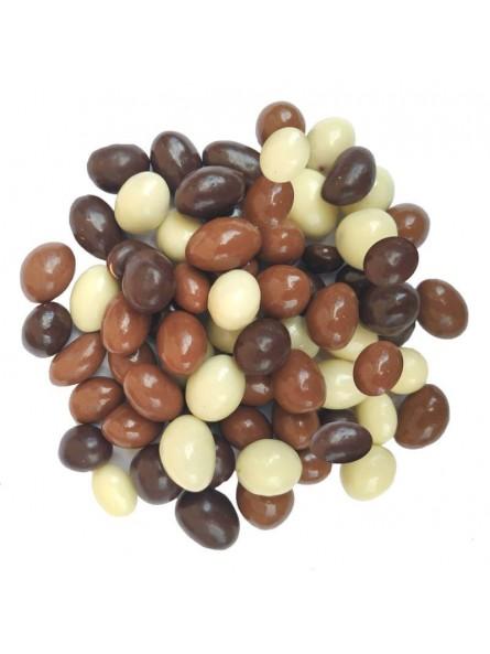 Cacahuètes enrobées au chocolat