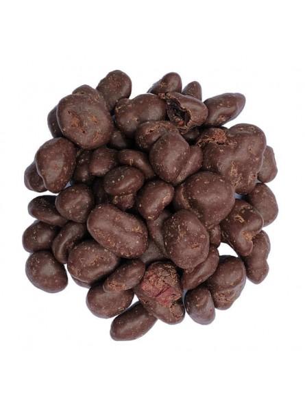 Cranberries enrobées au chocolat