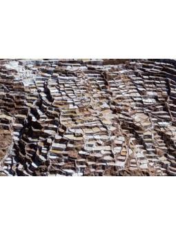 Salines de maras dans les montagnes péruviennes