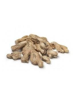 Racines de gingembre séchées