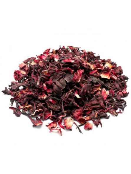 Fleurs d'hibiscus séchées (pour bissap ou carcadé)