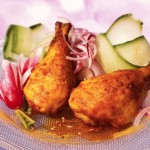 Recette du poulet épicé à la palestinienne sumac curcuma paprika
