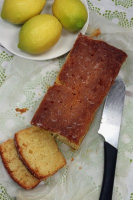 Recette du cake au citron et gingembre confit