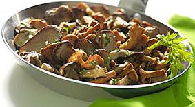 recette des champignons a la persillade