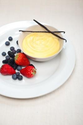 Recette de la crème anglaise à la vanille bourbon