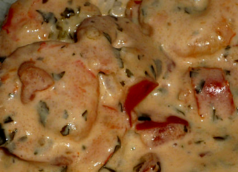 recette crevette crème nora