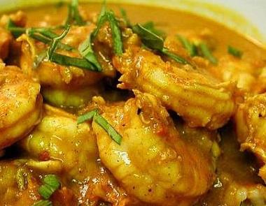 Recette du poisson au curry Kéralais