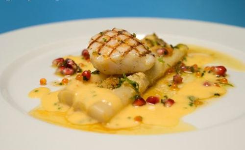 recette des filet de poissons blanc aux épices aromates poisson baies roses piment