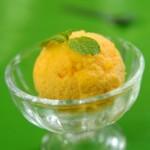 recette de la glace au safran et huile d'olive