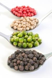 les différents poivres (couleurs)