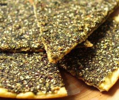 Recette : Manaich au zaatar (manakish ou manouche) galettes Liban
