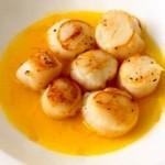 recette des noix de saint jacques au safran