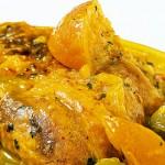recette perdreaux aux citron confit épices