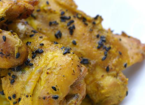 Recette du poulet à la nigelle
