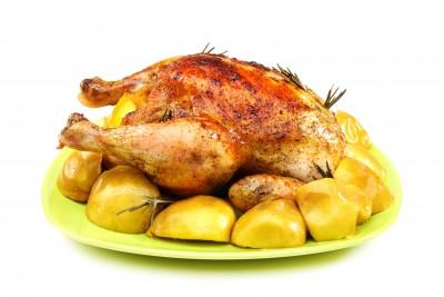 Recette de poulet rôti aux herbes de Provence