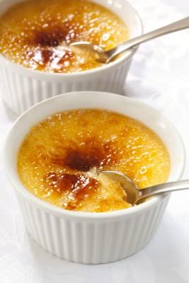 Recette des crèmes brûlées aux pommes épicées au sumac