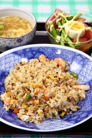 Recette de salade de riz à l'indienne