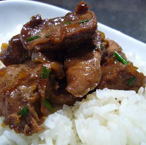 recette des aiguillettes de canard au piment d'espelette