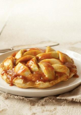 Recette des tartelettes aux pommes, caramel beurre salé et épices