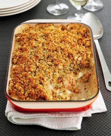 recette du crumble au poulet pastèque et épices