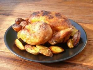 recette du poulet grille au sirop d'erable et epices guacamole