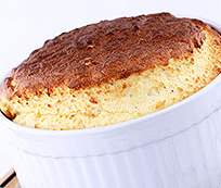 Recette du soufflé au poulet et carvi