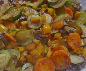 recette légumes au garam masala