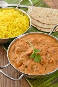 butter chicken ou poulet makkhani inde
