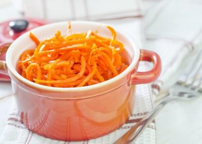Recette de salade de carottes au poivre long
