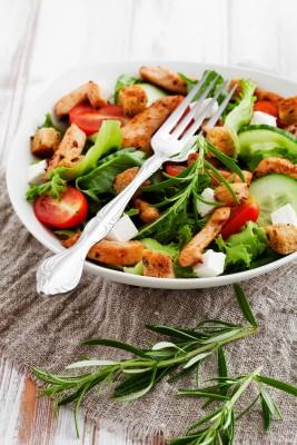 Recette de salade composée aux épices loubia
