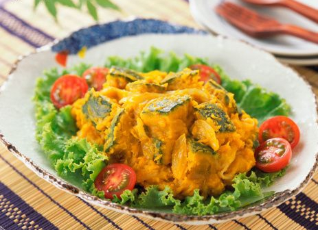 Recette de la salade de potiron au macis