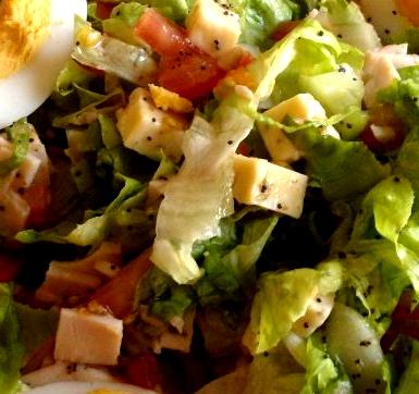 Recette de salade composée aux graines de pavot bleu