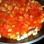 recette salade d'aubergines tomate marocaine epices ras el hanout cumin