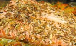 Recette de saumon aux graines d'aneth et fenouil