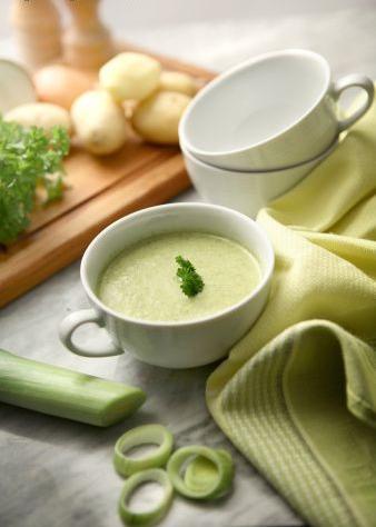 Recette : Soupe Thaï aux poireaux épicée