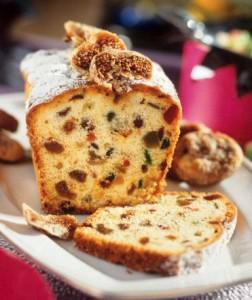 recette du cake aux figues et fruits séchés