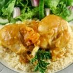 recette du poulet aux épices et abricots secs