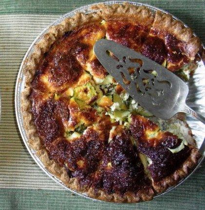 Recette de la tarte aux légumes et épices