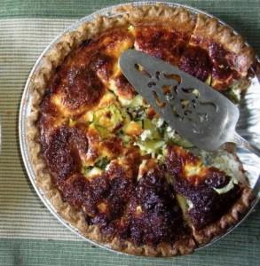 recette de la tarte aux légumes et epices