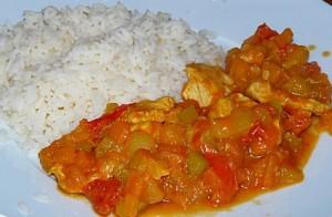 recette des légumes colombo epices créoles