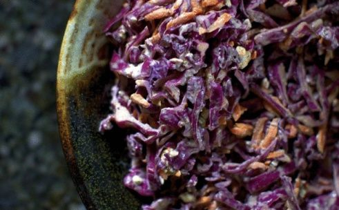 Salade de choux Sri-Lankaise