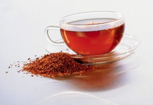 tasse infusion de rooibos the rouge